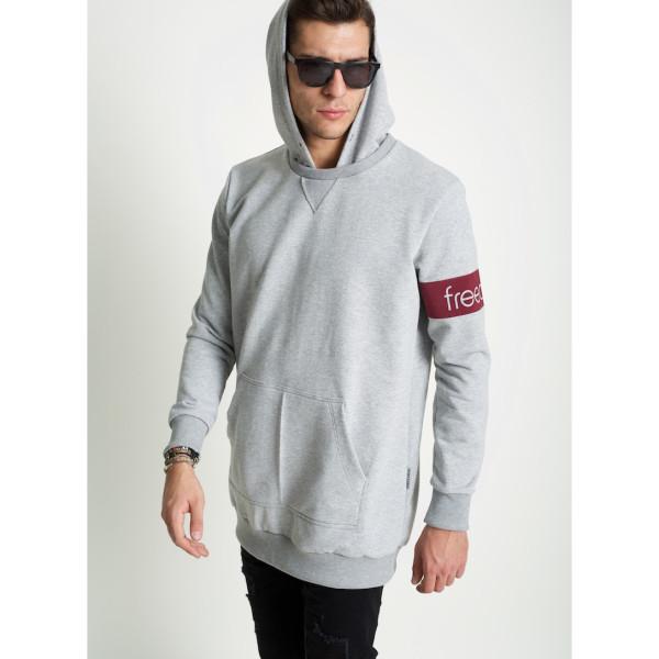 822e33e3f485 μπλούζα φούτερ με κουκούλα